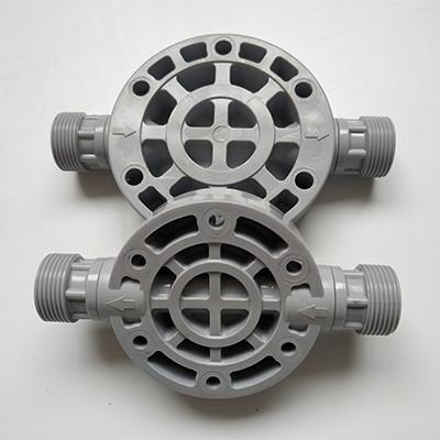 机械隔膜计量泵头